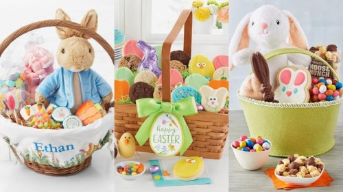 20 premade Easter baskets kids will love