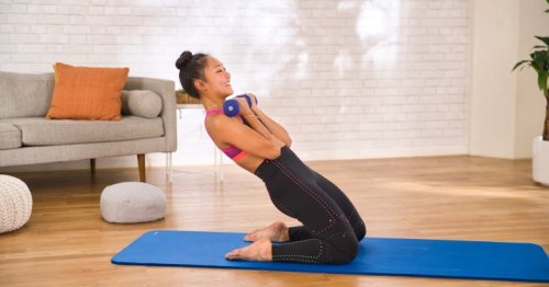 mbg moves: A Full-Body Strength & Conditioning Workout To Try At Home