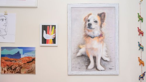Is it worth spending hundreds for a custom portrait of your pet?