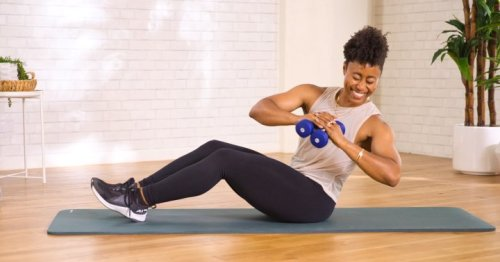 mbg moves: A Speedy Workout That Targets Your Entire Core