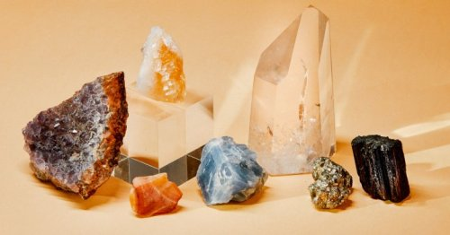 A Beginner's Guide To 10 Types Of Crystals & How To Use Each Of Them