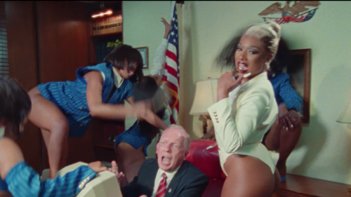 Megan Thee Stallion's 'Thot S**t' Video Takes All The Shots At Conservatives Who Criticized 'WAP' - Blavity