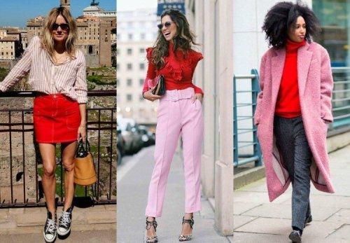 Color Trend: vermelho + rosa