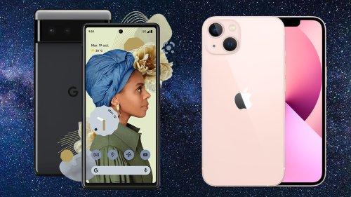 Pixel 6 vs iPhone 13, un combat sans vainqueur (sur le papier) ?
