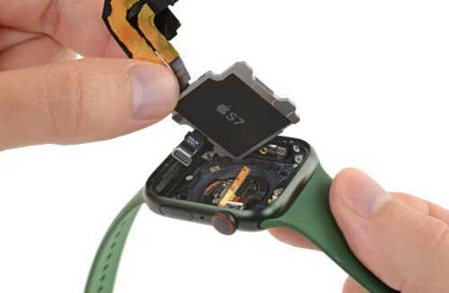 iFixit désosse l'Apple Watch Series 7 et dévoile des similitudes entre l'iPhone 13 et la montre connectée