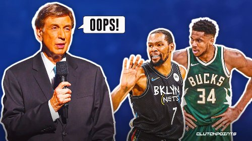 Marv Albert gets backlash for careless remark on Kevin Durant, Giannis Antetokounmpo