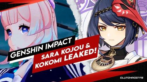 Genshin Impact Leaks – Sara Kujou and Sangonomiya Kokomi