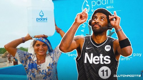 Nets' Kyrie Irving helped build solar water center in Pakistan