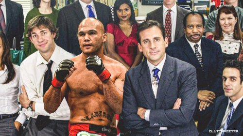 Robbie Lawler would rather watch The Office than Paul-Woodley