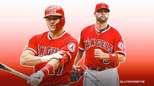 Angels star Mike Trout's emotional reaction to Albert Pujols being released