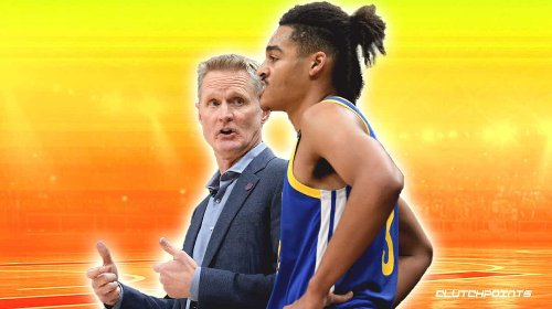 Jordan Poole's 38-point outburst in Steph Curry-less game draws reaction from Steve Kerr