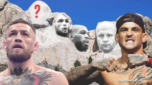 Dustin Poirier snubs Conor McGregor in his MMA Mount Rushmore