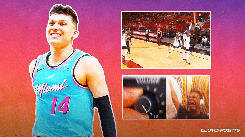 VIDEO: Tyler Herro turns shotmaking up to 11 on back-to-back unreal buckets for Heat