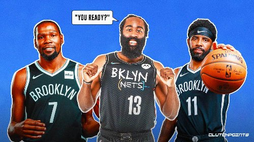 Nets guard James Harden's tease of Big 3 reunion has NBA teams running scared