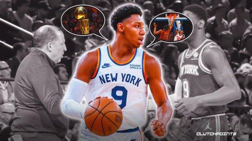 RJ Barrett reveals his personal goal this season with Knicks