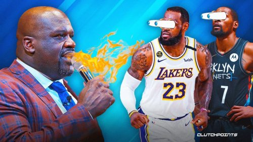 Shaq blasts LeBron James, Kevin Durant, NBA superteams for wanting 'respect'