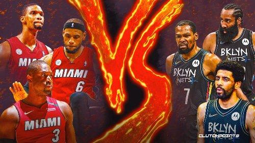 Nets news: Chris Bosh's brutally honest take on LeBron James, Heat Big 3 vs Kevin Durant, Brooklyn Big 3