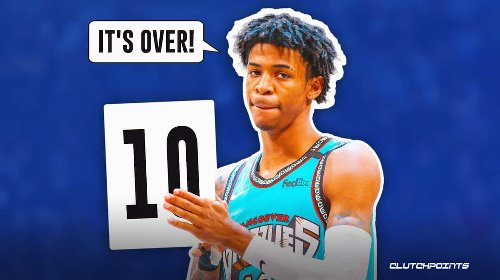 Grizzlies guard Ja Morant looks ready for 2022 Dunk Contest with never-before-seen trick