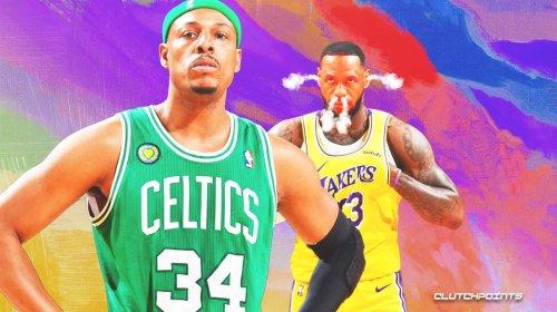 Paul Pierce throws shade at LeBron James, Lakers