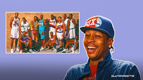 Sixers legend Allen Iverson speaks out on missing iconic 1996 draft photo