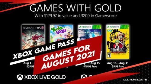 Xbox Game Pass for August 2021 brings four awesome games into the mix