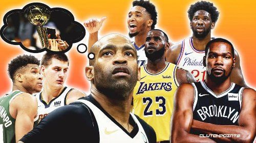 Vince Carter reveals his title favorite … and it's not the Lakers