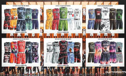 Ranking All 30 NBA Teams' Hip-Hop Jersey Concepts