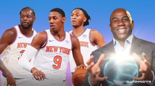 NBA superstar heading to Knicks, claims Magic Johnson