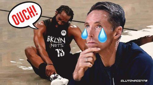 Nets coach Steve Nash drops scary truth on James Harden's injury