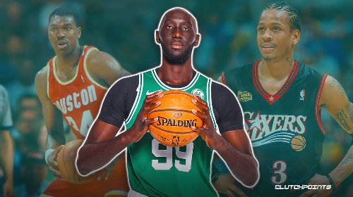 Celtics big man Tacko Fall combines Allen Iverson, Hakeem Olajuwon moves in one glorious moment
