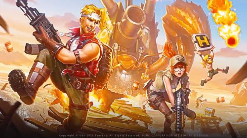 Have a first look at the upcoming Metal Slug Mobile, entering CBT this June