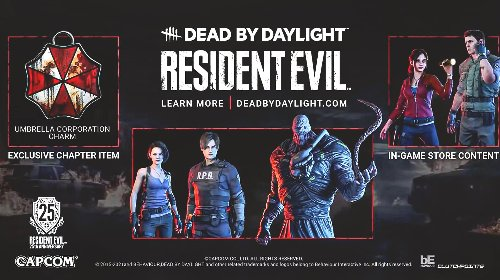 Dead by Daylight x Resident Evil collab adds Chris and Claire to the mix