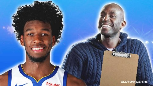 Dubs center James Wiseman speaks out on working with Kevin Garnett