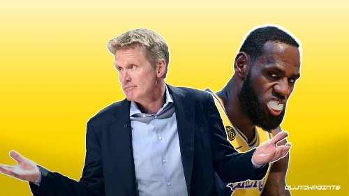 LeBron James won't be happy with Warriors coach Steve Kerr's hot take on play-in tournament