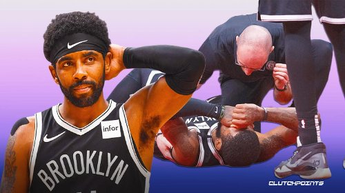 Nets star Kyrie Irving's message to trainers after being knocked out of Game 4 vs Bucks