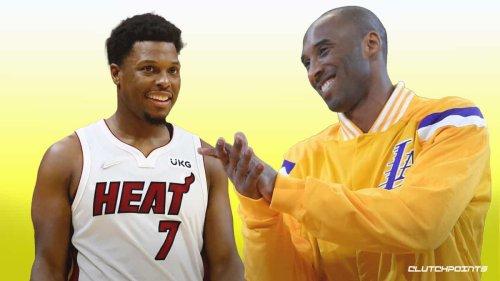 VIDEO: Heat's Kyle Lowry laps Kobe Bryant for historic NBA milestone