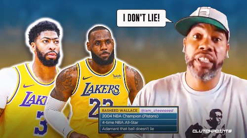 Rasheed Wallace confirms what everybody's thinking on LeBron James, Lakers
