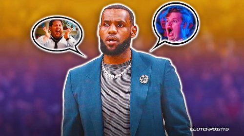 LeBron James' three-letter reaction after Lakers narrowly escaped Knicks in OT