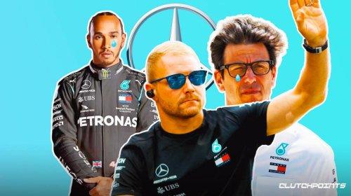 Lewis Hamilton's teammate Valtteri Bottas bids farewell to Mercedes