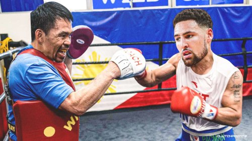 Warriors' Klay Thompson reacts to Manny Pacquiao's epic offseason deal