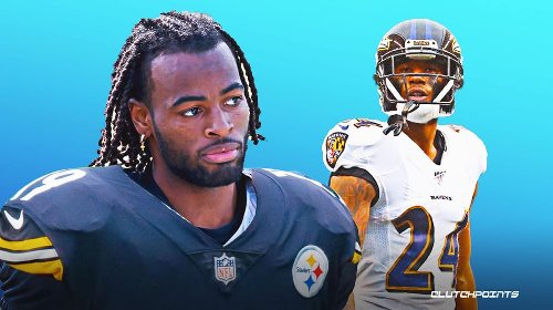 Steelers running back Najee Harris already receiving trash talk from Ravens' Marcus Peters