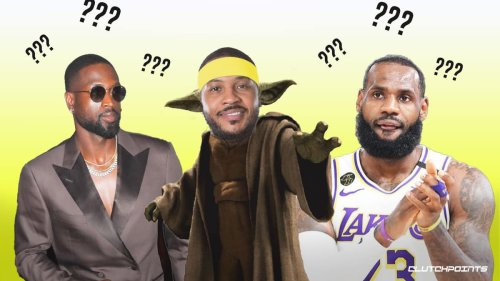 Carmelo Anthony drops all-time 12-man roster, leaves out LeBron James as starter