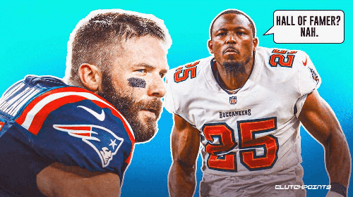 The reason Patriots' Julian Edelman doesn't belong in Hall of Fame, per LeSean McCoy