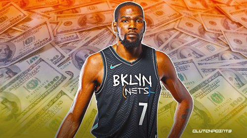 Kevin Durant's net worth in 2021