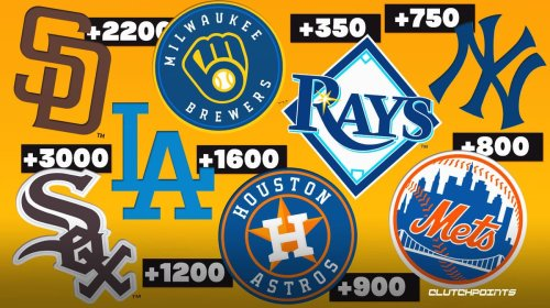 Updated World Series odds with a great sleeper pick