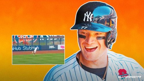 WATCH: Yankees' Clint Frazier makes ridiculous diving grab vs. Nationals
