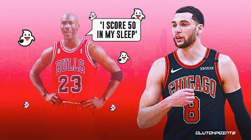 Zach LaVine spooked when he heard how many 50-point games Michael Jordan had