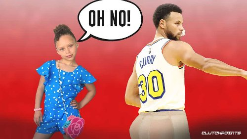 Warriors star Stephen Curry scares off his eldest daughter from basketball with … butt pad