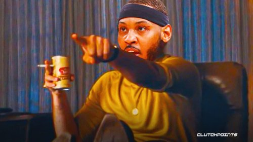 Carmelo Anthony found out he was joining LeBron James, Lakers in a very Carmelo Anthony way