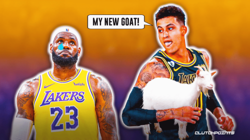 Kyle Kuzma replaces LeBron James as his GOAT after Lakers trade
